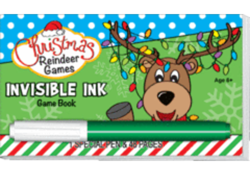 Lee Publications Reindeer Games Invisible Ink Book