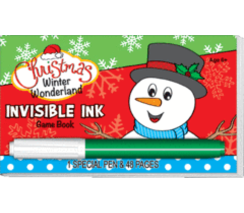 Winter Wonderland Christmas Invisible Ink Book