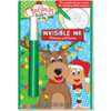 Lee Publications Christmas Rockin' Around the Christmas Tree - Invisible Ink Book