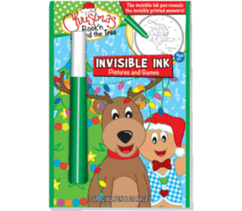 Christmas Rockin' Around the Christmas Tree - Invisible Ink Book