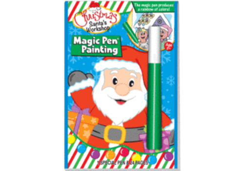 Lee Publications Christmas Santa's Workshop - Invisible Ink Book
