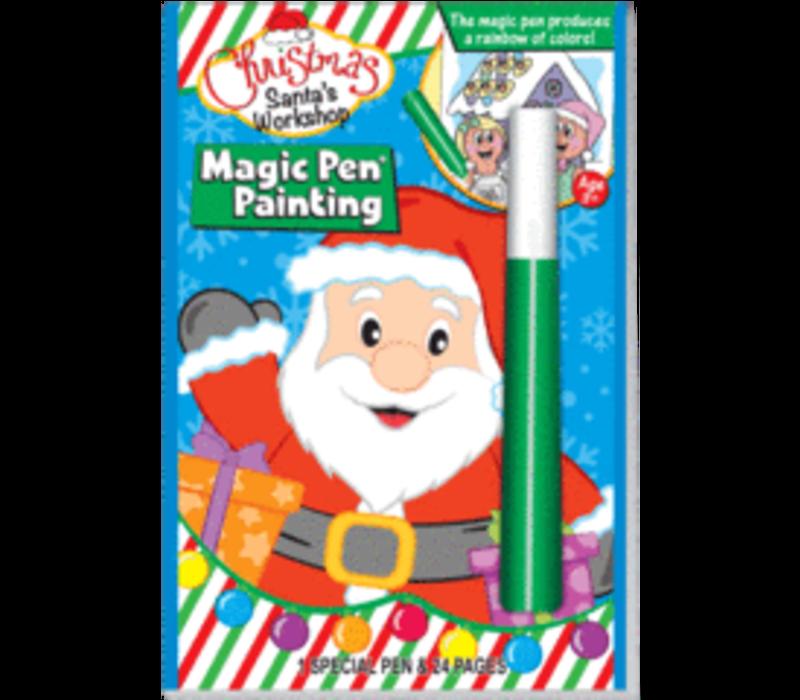 Christmas Santa's Workshop - Invisible Ink Book