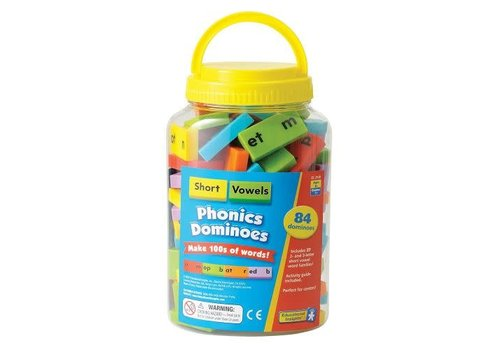 Educational Insights Phonics Dominoes - Short Vowels