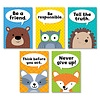 Creative Teaching Press Woodland Friends - Character Traits 5 Poster Pack