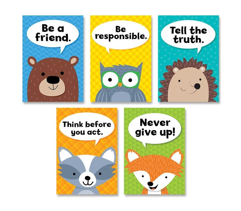 Woodland Friends - Character Traits 5 Poster Pack