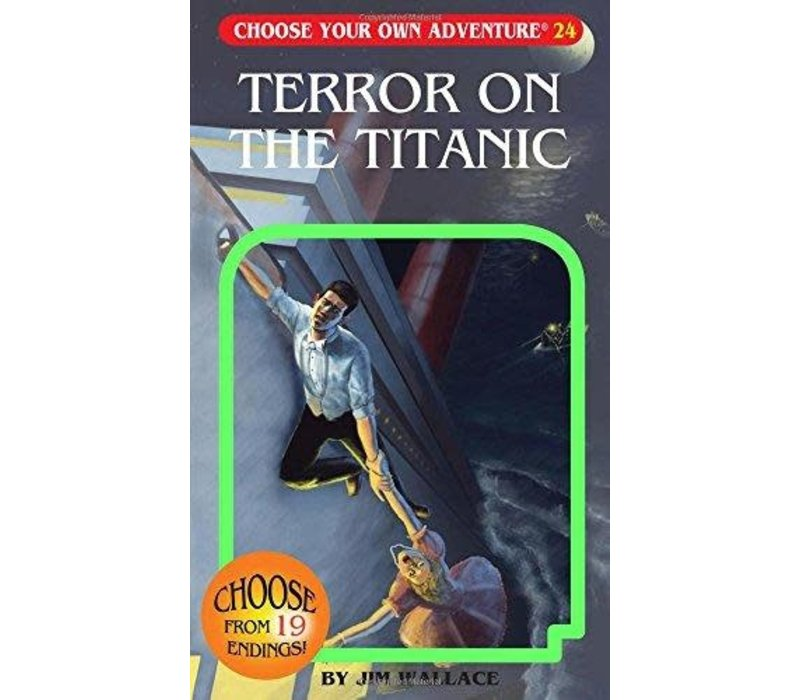Choose Your Own Adventure Books - Terror on the Titanic