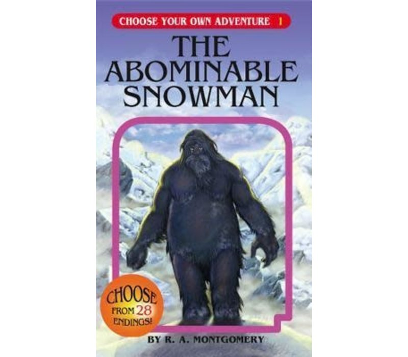 Choose Your Own Adventure Books -The Abominable Snowman
