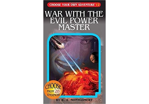 chooseco Choose Your Own Adventure Books -War With The Evil Power Master