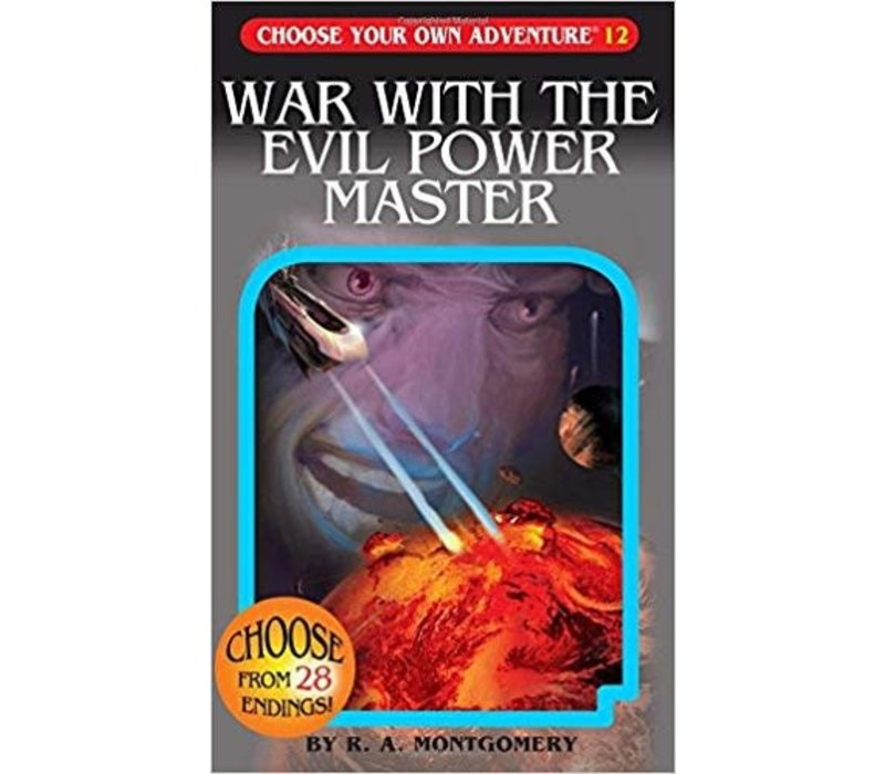 Choose Your Own Adventure Books -War With The Evil Power Master *