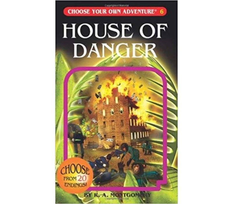 Choose Your Own Adventure Books -House Of Danger
