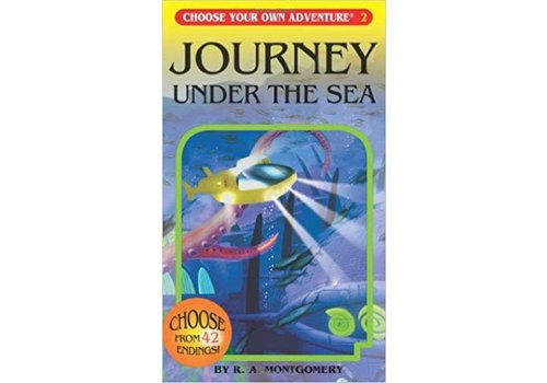 NELSON Choose Your Own Adventure Books -Journey Under The Sea *