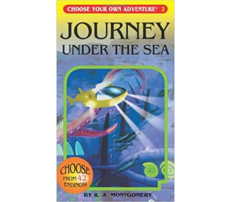 Choose Your Own Adventure Books -Journey Under The Sea