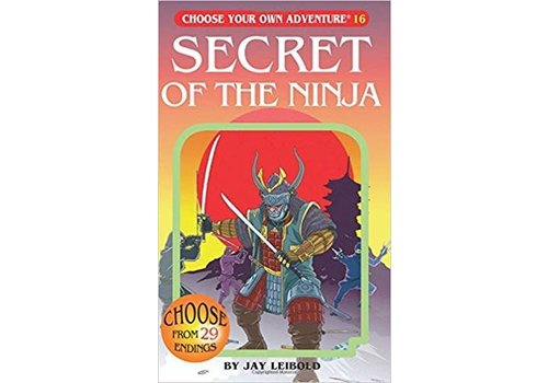 chooseco Choose Your Own Adventure Books -Secret Of The Ninja