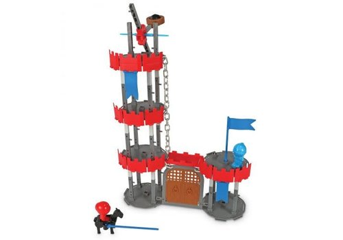 Learning Resources Engineering & Design Building Set - CASTLE