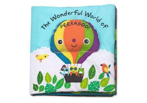 Melissa & Doug Wonderful World of Peekaboo - Cloth Book