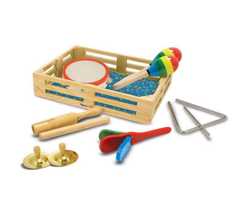 Clap! Clang! Tap! Musical Instrument Set