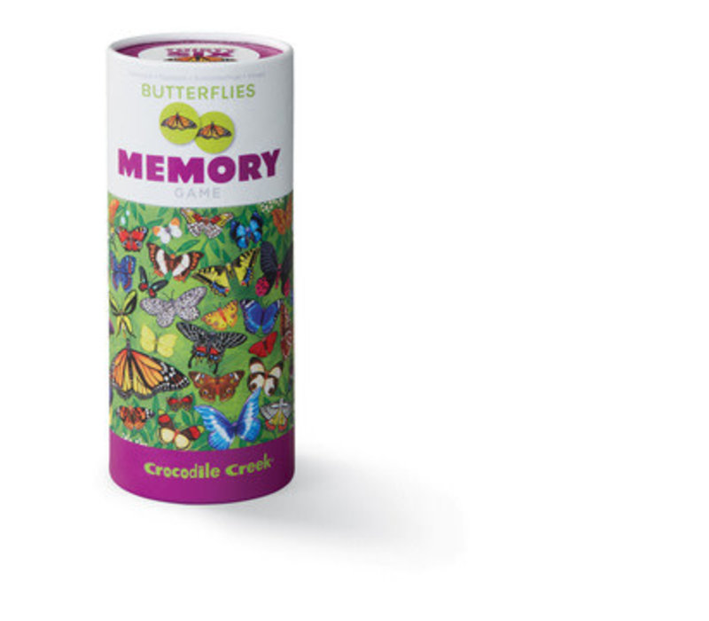 Butterfly Memory Game, 72 pieces *