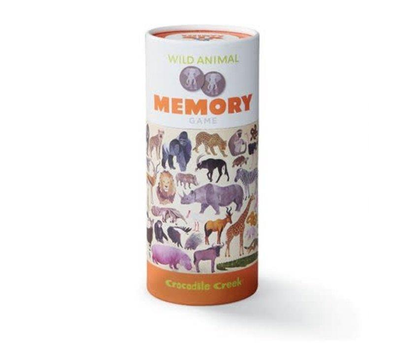 Wild Animals Memory Game, 72 pieces *