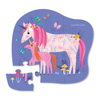 12 pc Mini Puzzle/Unicorn Magic NEW!