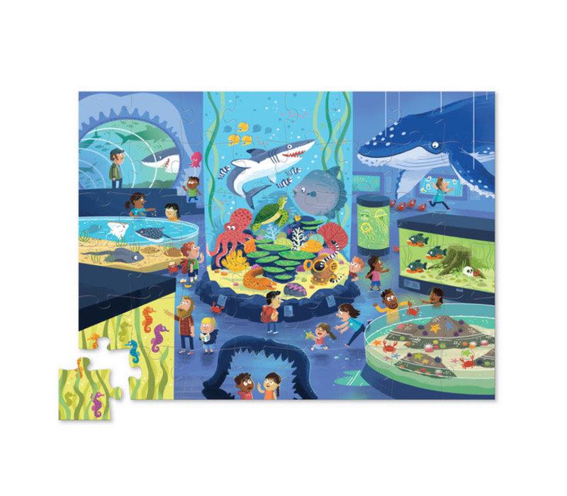 Day at the Museum - Aquarium Puzzle 48 pieces