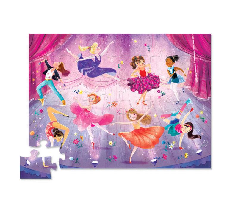 36 pc Let's Dance Floor Puzzle