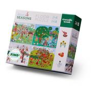 24 pc Four Seasons Floor Puzzle