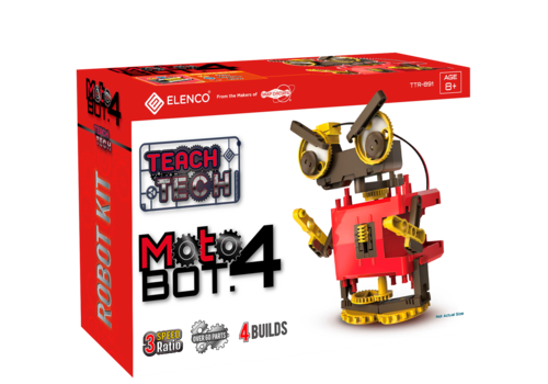 Teach Tech MotoBOT.4, Build 4 Different Models *