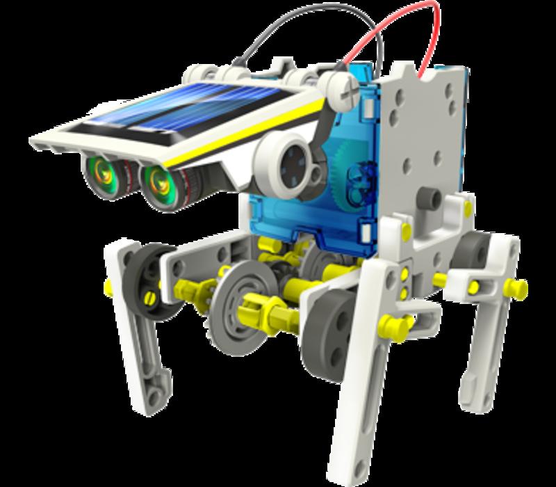 SOLAR BOT.14, 14 in 1 Educational Solar Robot Kit