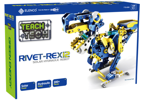 Teach Tech Rivet REX 12, SOlar Hydraulic Robot