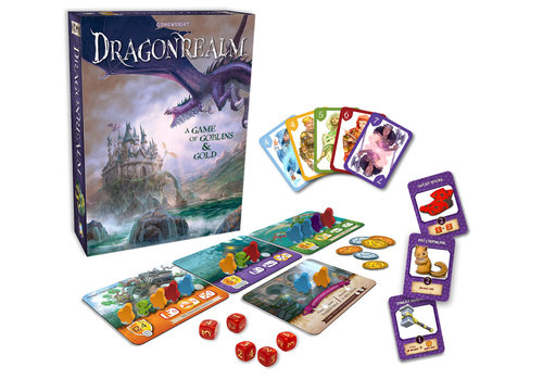 Gamewright Dragonrealm, A Game of Goblins and Gold