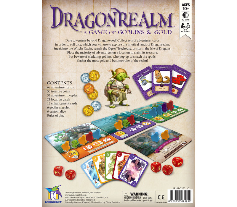 Dragonrealm, A Game of Goblins and Gold *