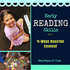 LEARNING TREE Early Reading Skills BOOSTER Saturday 10-11am