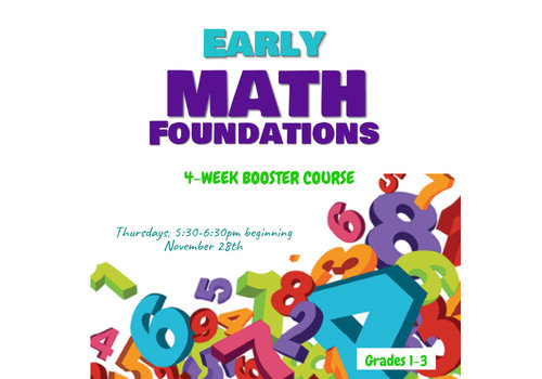 LEARNING TREE Early Math BOOSTER, Thursdays 5:30-6:30pm