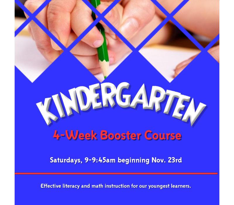 Kindergarten Basics BOOSTER, Saturdays, 9-9:45am