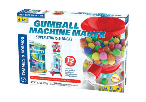 Thames & Kosmos Gumball Machine Maker - Super Stunts & Tricks *