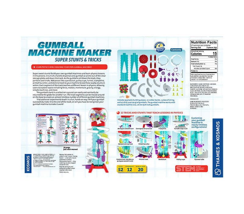 Gumball Machine Maker - Super Stunts & Tricks
