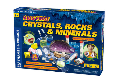 Thames & Kosmos Kids First Crystals, Rocks & Minerals