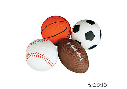 fun express Sports Balls Stress & Fidget Tool