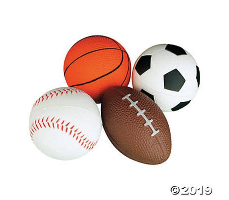 Sports Balls Stress & Fidget Tool