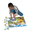 Eeboo Age of the Dinosaur 100 Piece Puzzle
