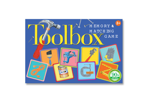 Eeboo Toolbox Memory & Matching Game