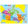 ASHLEY PRODUCTIONS Learning Mat Map of Canada Basic *