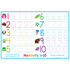 ASHLEY PRODUCTIONS Learning Mat Numbers 1-10