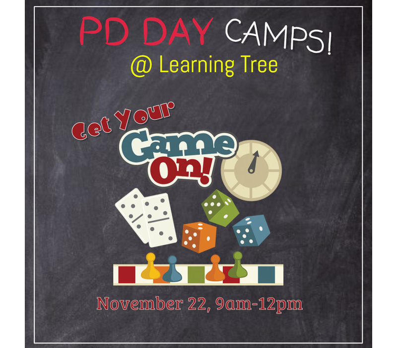 Get Your GAME ON! PD Day Camp