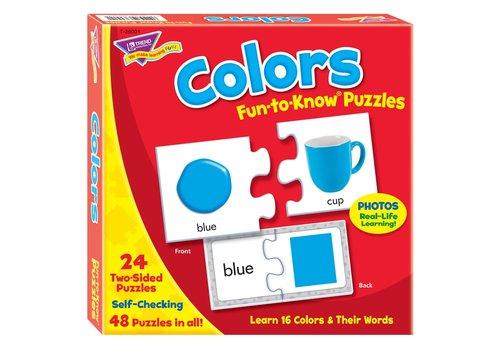 Trend Enterprises Colors Fun to Know Puzzle