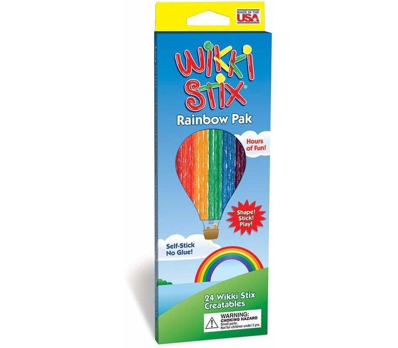 Wikki Stix - Rainbow Pack - 24 Wikki Stix Creatables