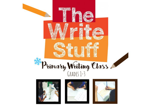 The Write Stuff, Primary Writing Class WINTER Thursdays, 5:30-6:30pm