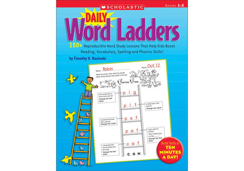 Scholatic USA DAILY WORD LADDERS GRADES 1-2 *