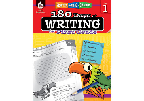 SHELL EDUCATION 180 Days of Writing, Grade 1