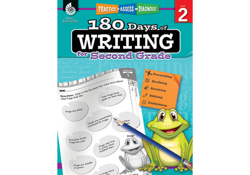SHELL EDUCATION 180 Days of Writing, Grade 2